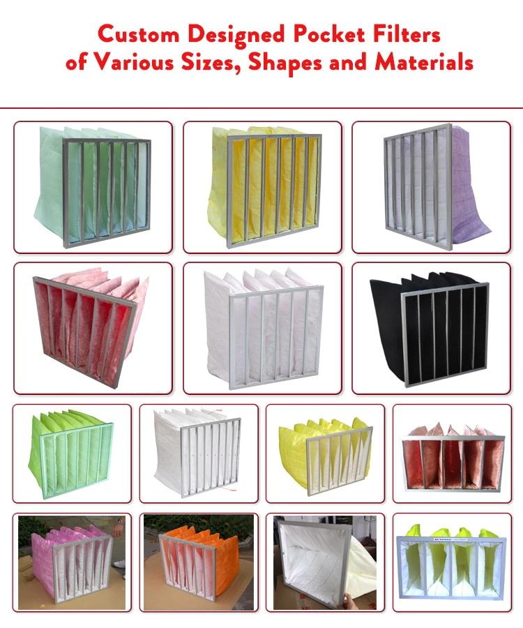 pocket air filters 21