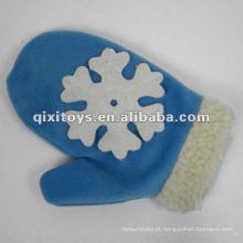 luvas de brinquedo de neve de pelúcia de algodão