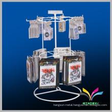 Best selling wire metal retail journal display rack