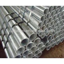 Laminado a quente, quente expandido, estirado a frio e tubo galvânico quente / GI PIPE / comprimento padrão do tubo galvanizado