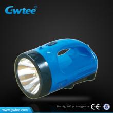 Lanterna led recarregável exterior de alta capacidade