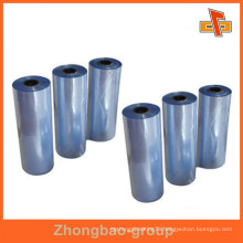 OEM Accept manufacturers waterproof blue heat PVC shrink film for tissue,photo fram,gift boxes packaging