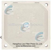 Plaque filtrante à membrane pour presse à membrane à filtre à membrane de la presse filtrante Leo, plaque filtrante à membrane pour presse à filtre