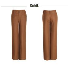 15PKPT01 2015 nouvelle dame à la mode 55/45 pantalons de lin