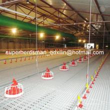 Equipo completo de granja de aves de corral automática para la producción de pollos de engorde