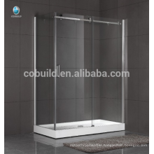 K-558 modern design frameless glass bathroom shower room enclosure multifunction shower enclosure