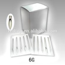 Aiguille professionnelle Piercing 6G