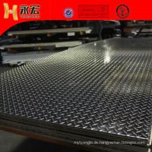 1050 3003 5052 Aluminium-Rampenabdeckplatten