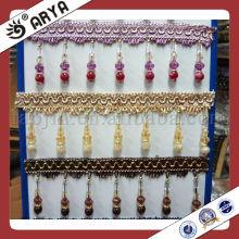 Textile Accessories Crystal Bead Curtain Trim Home Furniture Curtain Decor