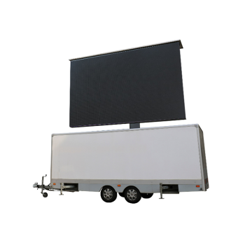 High-Definition-LED-Werbung Trailer Mobile LED-Bildschirm