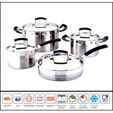 8PCS Steel Cookware Set