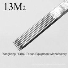 Aiguilles stérilisées de qualité standard pour tatouage Magnum