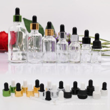 Transparent Glass Dropper Bottle (NBG02)