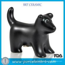 Wholesale New Product Black Dog Shape Pet Urns