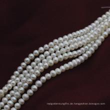 Kleine Größe 3mm Natural off Runde Form Süßwasser Perle Perlen