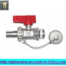 Válvula de latón estándar con tapón