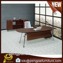 professional office furniture european style oval circle office desk