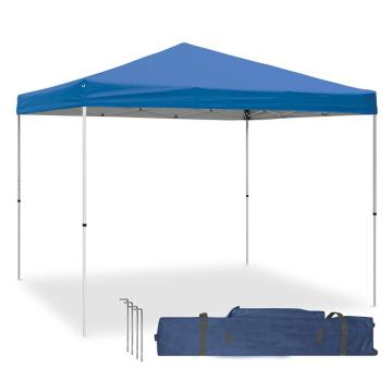 tenda pop-up bianca a baldacchino 10x10 con loghi