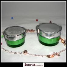30ml 50ml coeur forme acrylique peau soins Jar