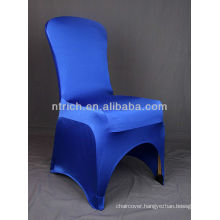 gold chair covers,Lycra/Spandex chair cover with sash for wedding and banquet