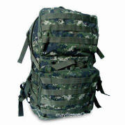 Military Backpack, Made of Polyester, Available in Various Designs and Colors