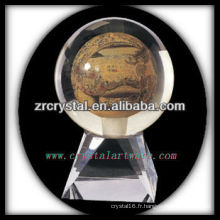 belle boule de cristal k9 K040