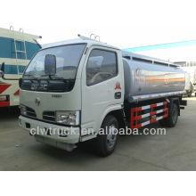 Dongfeng Mini caminhão reabastecimento móvel, caminhão tanque de combustível 4x2 capacidade