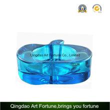 Candelero azul de Apple del color para la decoración diaria