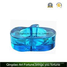 Blaue Farbe Apfel Kerzenhalter für Tägliches Dekor