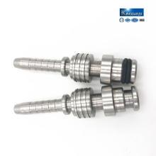 Kohlenstoffstahl Nickel-Coated Aluminium Fitting mit Metallteilen Custom Fabrication