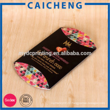 Biscuit use and accept custom order gold foil pillow box