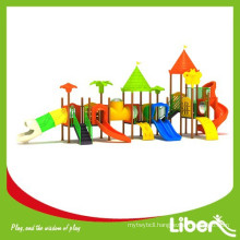 Outdoor Plastic Slides Large Kids Outdoor Playground for Children Amusement Park