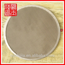 round metal filter disc used for water filter
