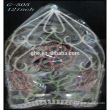 Vente en gros de strass belle couronne de tiare de roses de la Saint-Valentin