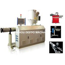 Máquina automática completa del extrusor de solo tornillo