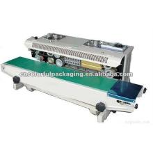 plastic bags heat sealing machine