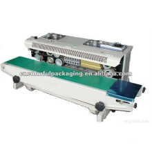 plastic bags heat sealing machine