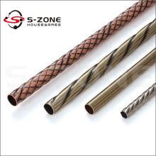 "Radiance, Quadrant Metal Curtain Rod and Finial, 1"" Rod Diameter"