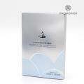 OEM facial scrub cosmetic packaging box no minimums
