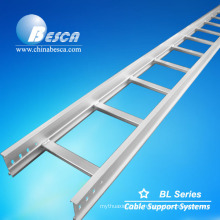 Top One cable ladder HDG ladder type cable tray size