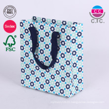 Custom Paper Folding Shopping Gfit Bag