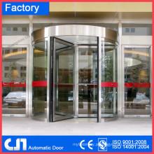 Pequenas 3 portas de luxo portas giratórias automáticas