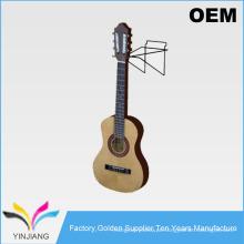 Metal Wire Simple Design Slatwall Swivel Guitar Display para guitarra
