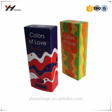 Wholesale paper jewellery box display cosmetic paper box