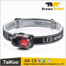 1 led 1w 80lm 3 white outdoor led head light