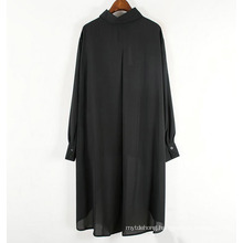 Pleated Irregular Women Shirt Fashion Spring Elegant Small Fresh Blouse
