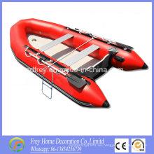 Barco deportivo de PVC CE, bote de remos, yate