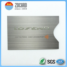 Customized Printed Aluminum Foil Paper RFID Blocking Card Holder