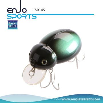 Angler Select Crank Baits Top Insectes d'insectes à l'eau pour Bass - Fishing Tackle Lure (IS0145)