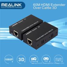 60м Зингель кабель cat5e/6 HDMI удлинитель, HDMI В1.3